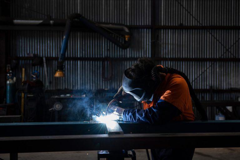 Templeton Engineering welding shot