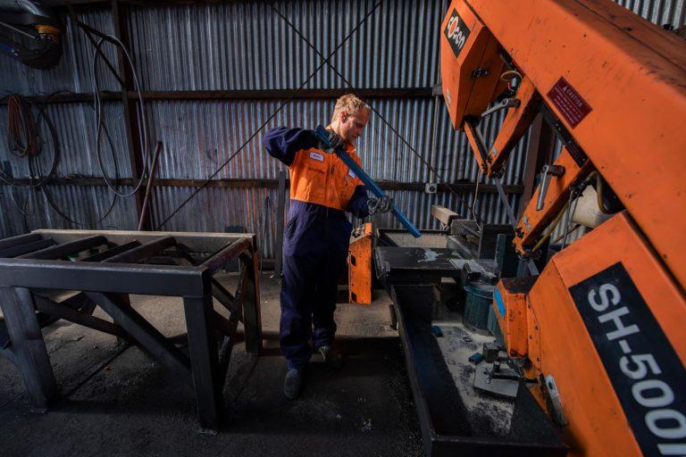 Templeton Engineering steel workshop